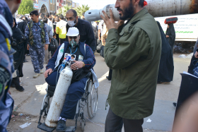 سوگواره چهارم-عکس 15-مهرداد  حسنی-پیاده روی اربعین از نجف تا کربلا