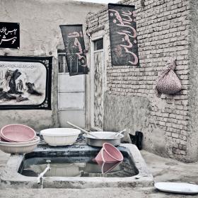 سوگواره چهارم-عکس 125-امیر حسین علیداقی-جلسه هیأت فضای بیرونی
