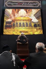 سوگواره چهارم-عکس 38-حسین دیواندری-جلسه هیأت فضای داخلی
