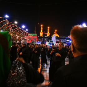 سوگواره پنجم-عکس 10-مرتضی شادور-پیاده روی اربعین از نجف تا کربلا