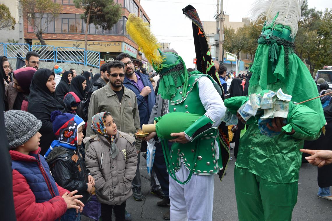سوگواره پنجم-عکس 1-مهدی خانلری-پیاده روی اربعین از نجف تا کربلا