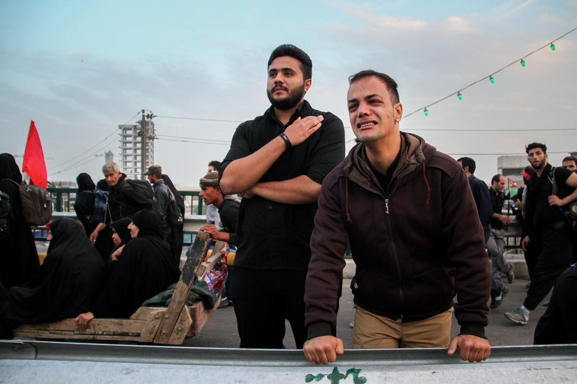 سوگواره پنجم-عکس 20-مسعود ماکاوند-پیاده روی اربعین از نجف تا کربلا