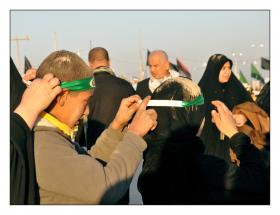 سوگواره دوم-عکس 19-حمید رضا حبیبی محب سراج-پیاده روی اربعین از نجف تا کربلا