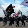 سوگواره پنجم-عکس 49-سعید کرمی-پیاده روی اربعین از نجف تا کربلا