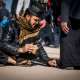 سوگواره پنجم-عکس 14-مرتضی فیض-پیاده روی اربعین از نجف تا کربلا