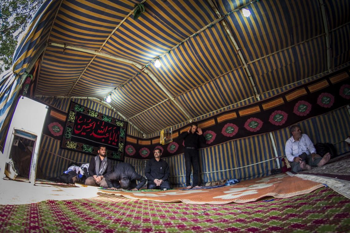 سوگواره پنجم-عکس 45-علی ابک-پیاده روی اربعین از نجف تا کربلا