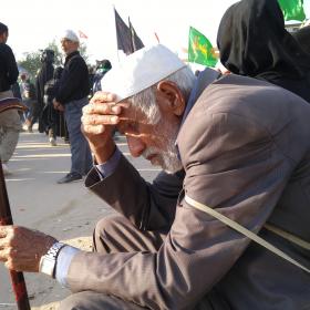 سوگواره پنجم-عکس 38-مسلم محمدی-پیاده روی اربعین از نجف تا کربلا