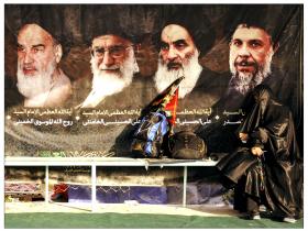 سوگواره چهارم-عکس 24-حمید رضا حبیبی محب سراج-پیاده روی اربعین از نجف تا کربلا