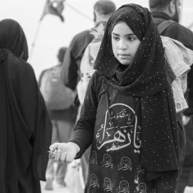 سوگواره چهارم-عکس 26-علی معصومی-پیاده روی اربعین از نجف تا کربلا