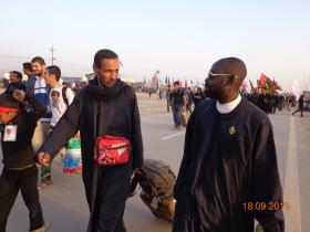سوگواره سوم-عکس 20-علی مقنی-پیاده روی اربعین از نجف تا کربلا