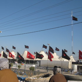 سوگواره دوم-عکس 169-محمد کشاورز-پیاده روی اربعین از نجف تا کربلا