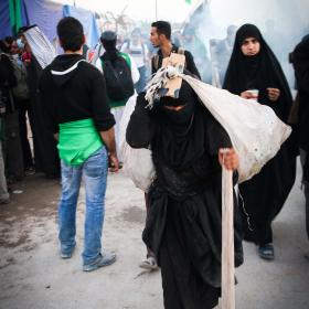 سوگواره چهارم-عکس 46-محمد رضا میثمی-پیاده روی اربعین از نجف تا کربلا