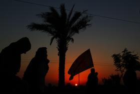 سوگواره دوم-عکس 1-محمد حسن صلواتی-پیاده روی اربعین از نجف تا کربلا