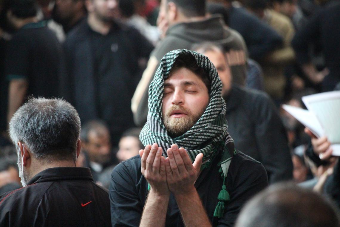 سوگواره چهارم-عکس 20-محمد حسن غضنفری هرندی-پیاده روی اربعین از نجف تا کربلا