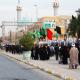 سوگواره پنجم-عکس 45-امین رحیم آبادی-پیاده روی اربعین از نجف تا کربلا