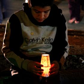 سوگواره دوم-عکس 23-محمد جعفری-جلسه هیأت فضای بیرونی