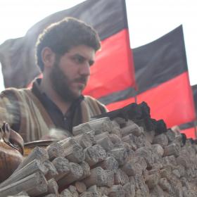 سوگواره سوم-عکس 8-عمار ابوالفتحی-پیاده روی اربعین از نجف تا کربلا
