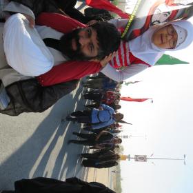 سوگواره پنجم-عکس 3- -پیاده روی اربعین از نجف تا کربلا