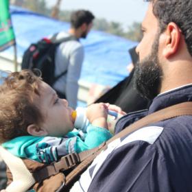 سوگواره سوم-عکس 1-عمار ابوالفتحی-پیاده روی اربعین از نجف تا کربلا