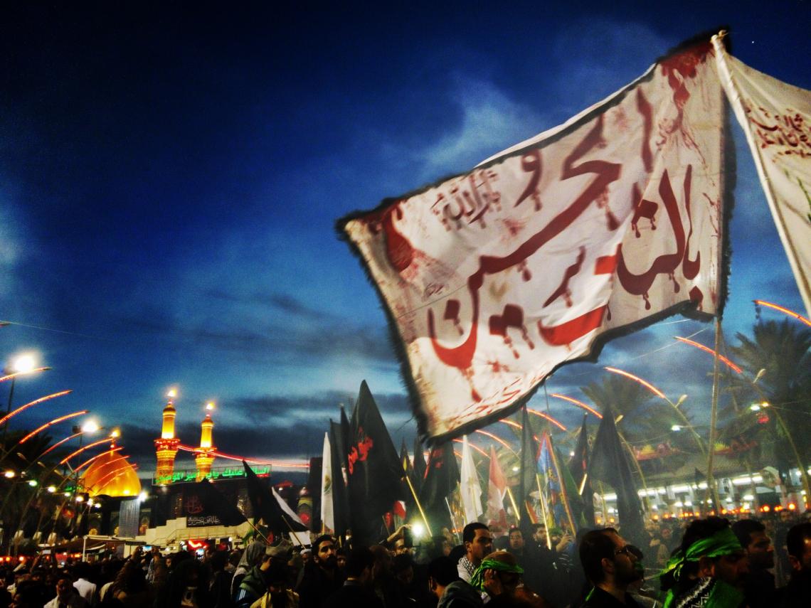 سوگواره چهارم-عکس 22-علیرضا رحمانی پور-پیاده روی اربعین از نجف تا کربلا