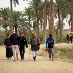 سوگواره پنجم-عکس 69-محمد حسن صلواتی-پیاده روی اربعین از نجف تا کربلا