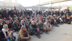 سوگواره سوم-عکس 1-پیمان نظرآبادی-پیاده روی اربعین از نجف تا کربلا