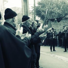 سوگواره سوم-عکس 2-علی صالحی زیارانی-جلسه هیأت فضای بیرونی