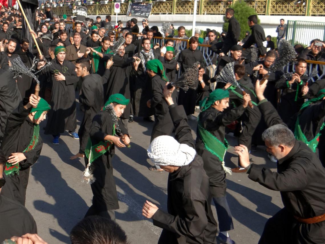 سوگواره چهارم-عکس 12-محمد رضا غلامی صومعه بزرگ -آیین های عزاداری