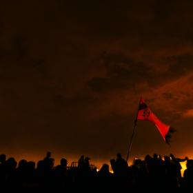 سوگواره چهارم-عکس 90-علی دهقان-پیاده روی اربعین از نجف تا کربلا