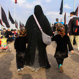 سوگواره سوم-عکس 9-حمید اسماعیل زاده-پیاده روی اربعین از نجف تا کربلا