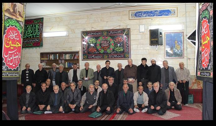 سوگواره سوم-عکس 10-احمدرضا کریمی-جلسه هیأت یادبود