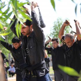 سوگواره سوم-عکس 34-صالح پورسالم-آیین های عزاداری