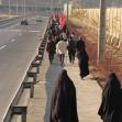 سوگواره چهارم-عکس 39-حسین دیواندری-پیاده روی اربعین از نجف تا کربلا