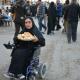 سوگواره پنجم-عکس 14-فاطمه عاقل زاده-پیاده روی اربعین از نجف تا کربلا