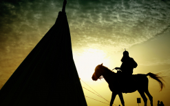 سوگواره دوم-پوستر 156-حسین استوار -پوستر عاشورایی