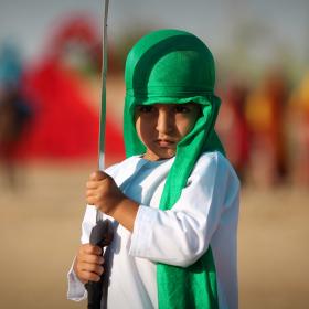 سوگواره سوم-عکس 130-حسین استوار -آیین های عزاداری