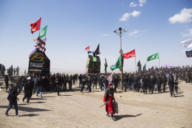 نهمین سوگواره عاشورایی عکس هیأت-حسین آذر-مجالس احیای امر اهلالبیت علیهمالسلام
