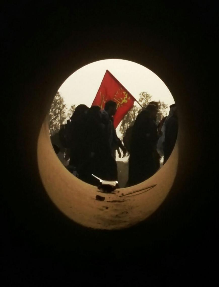 سوگواره پنجم-عکس 2-زهرا شهید-پیاده روی اربعین از نجف تا کربلا