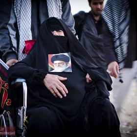 سوگواره سوم-عکس 32-امیر امیدنژاد-پیاده روی اربعین از نجف تا کربلا