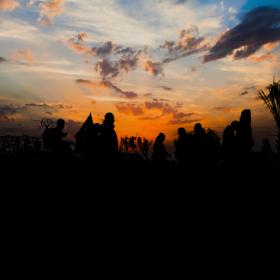 سوگواره سوم-عکس 6-محمدرضا پارساکردآسیابی-پیاده روی اربعین از نجف تا کربلا