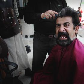 سوگواره سوم-عکس 8-حسین استوار -آیین های عزاداری