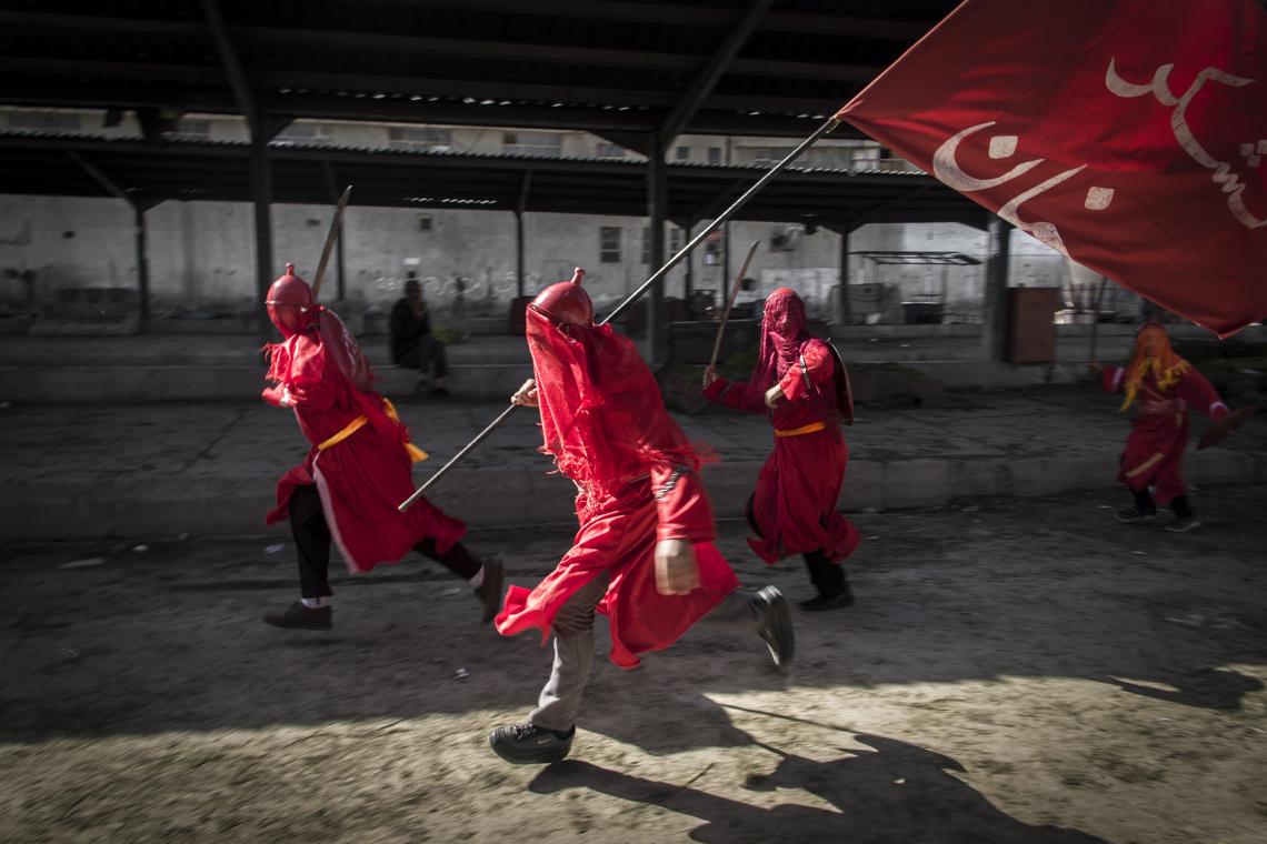 سوگواره چهارم-عکس 7-سید آیدین موسوی-آیین های عزاداری