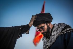 سوگواره پنجم-عکس 16-مرتضی فیض-پیاده روی اربعین از نجف تا کربلا