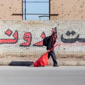 سوگواره چهارم-عکس 26-علی  حسن زاده-پیاده روی اربعین از نجف تا کربلا