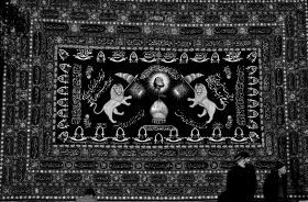 سوگواره دوم-عکس 6-نسرین تاران-پیاده روی اربعین از نجف تا کربلا