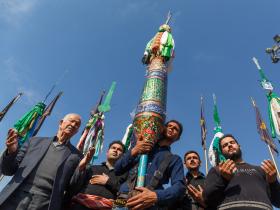 نهمین سوگواره عاشورایی عکس هیأت-مجید حجتی-مجالس احیای امر اهلالبیت علیهمالسلام
