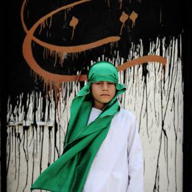 سوگواره سوم-عکس 26-حسین استوار -آیین های عزاداری