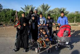 سوگواره چهارم-عکس 42-محمد حسن صلواتی-پیاده روی اربعین از نجف تا کربلا
