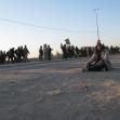 سوگواره دوم-عکس 75-محمد کشاورز-پیاده روی اربعین از نجف تا کربلا