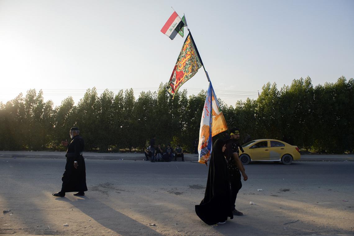 سوگواره چهارم-عکس 89-علی دهقان-پیاده روی اربعین از نجف تا کربلا